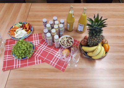 Gesundheitstag mit gesundem Frühstück