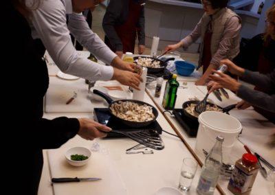 Kochen mit der Firma: Vom Profi lernen