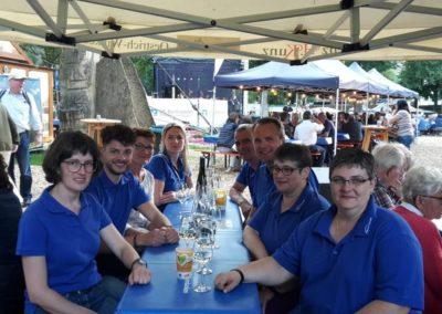Zusammen auf dem Hessentag in Bad Hersfeld