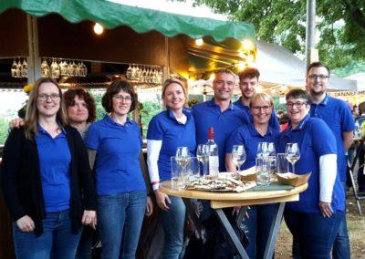 Auf dem Weindorf 2019 in Schwalmstadt