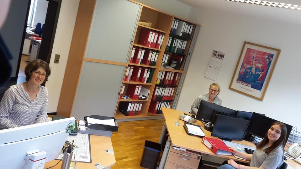 Unsere Mitarbeiterbüros…