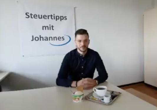 Steuertipps mit Johannes